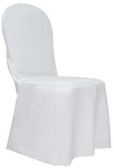 Black, Ivory, White, Ruched, Chair, Cover, Pleated, Puckered, Gathered, Rouge, Rouged, Lycra, Spandex